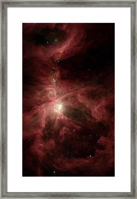 Orions Inner Beauty Framed Print by Stocktrek Images