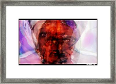 The Orishas Have Arrived Framed Print by Carmen Cordova