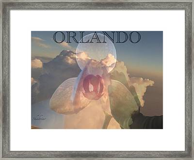 Orlando In Our Mind Framed Print
