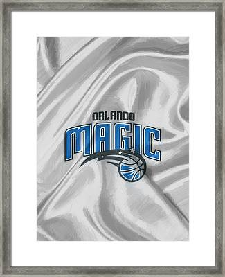 Orlando Magic Framed Print by Afterdarkness