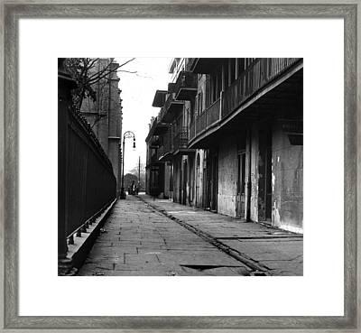 Orleans Alley Framed Print