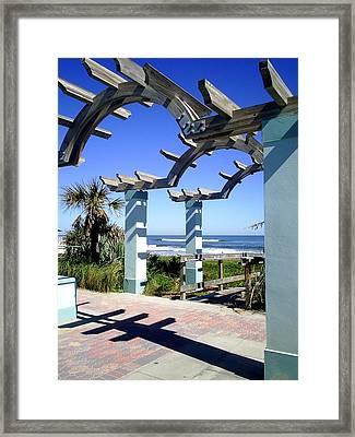 Ormond Beach Framed Print by Scarlett Royal