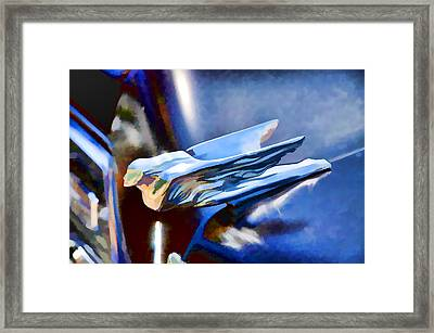 Ornament At The Antique Automobile Framed Print