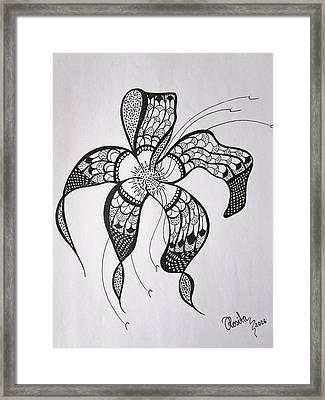 Ornamental    Framed Print by Rosita Larsson