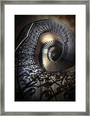 Ornamented Spirals Framed Print by Jaroslaw Blaminsky