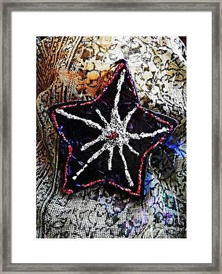Ornaments 14 Framed Print by Sarah Loft
