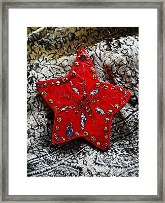 Ornaments 15 Framed Print by Sarah Loft