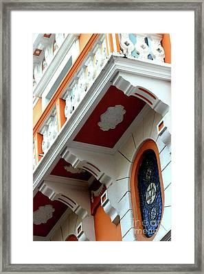 Ornate Balcony Framed Print