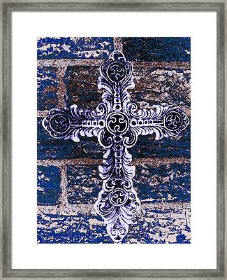 Ornate Cross 2 Framed Print