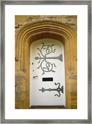 Ornate Door 1 Framed Print by Douglas Barnett