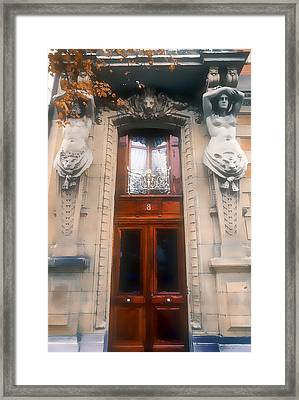 Ornate Eight Framed Print by Stephen Anderson