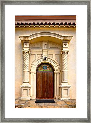 Ornate Entrance Framed Print