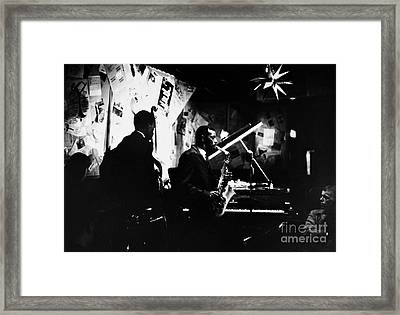 Ornette Coleman (1930-) Framed Print by Granger