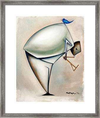 Ornithologis Dualis Framed Print by Martel Chapman
