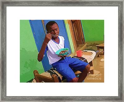 Orphan Boy Framed Print by Deborah Selib-Haig DMacq