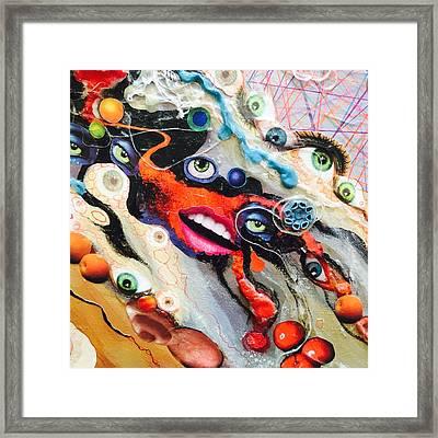 Eye Gumbo Framed Print
