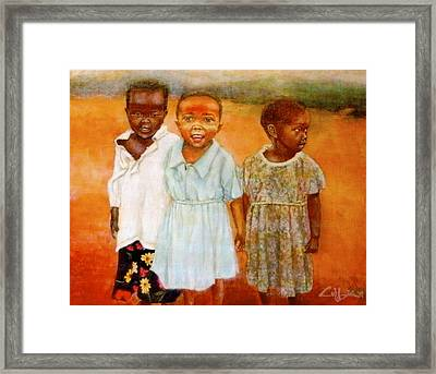 Orphans3 Framed Print by G Cuffia