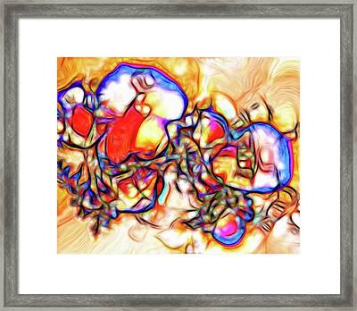 Orphea Framed Print