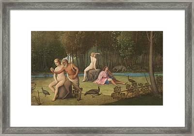 Orpheus Framed Print by Venetian School