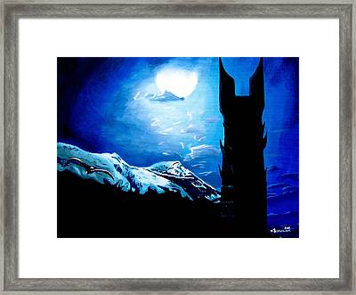 Orthanc Rescue Framed Print by Kayleigh Semeniuk