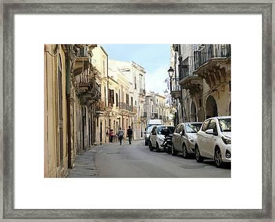 Ortigia  Framed Print