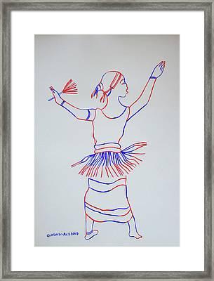 Orunyege Dance Bunyoro Uganda Framed Print