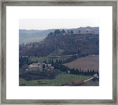 Orveito Italy Framed Print by Marna Edwards Flavell
