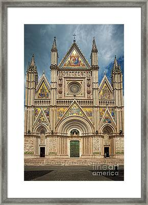 Orvieto Duomo Framed Print