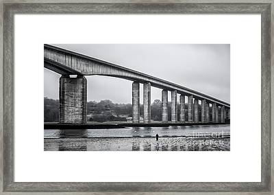 Orwell Bridge Framed Print by Svetlana Sewell