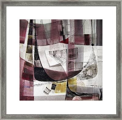 Os1957bo004 Abstract Landscape Of Potosi Bolivia 22 X 22 Framed Print