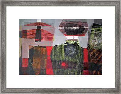 Os1957bo013 Abstract Landscape Of Potosi Bolivia 19.6 X 28.9 Framed Print