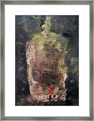 Os1959ar019ba Abstract Shapes No.4 13.6 X 19.6 Framed Print