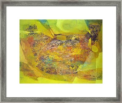 Os1959bo002 Abstract Landscape Potosi 22.5x17 Framed Print by Alfredo Da Silva