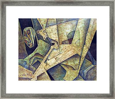 Os1974ny005 Duel With The Future 20x16 Framed Print