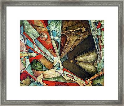 Os1976ny001 Allegory Of Tension 20x25.5 Framed Print