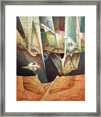 Os1985dc002 Light Of Hope 19.75x25.5 Framed Print