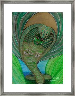 Wadjet Osain Framed Print