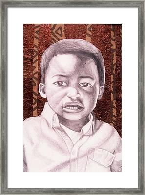 Osaze  Framed Print by Malik Seneferu