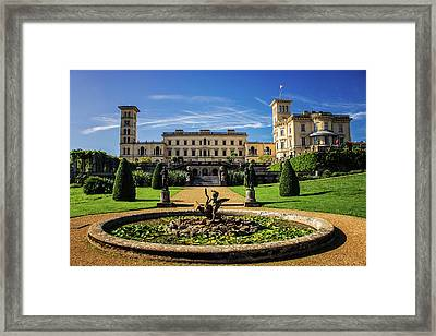 Osborne House Framed Print by Martin Newman