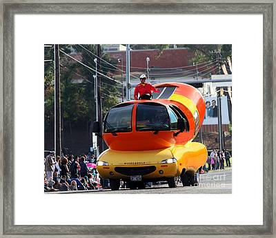 Oscar Mayer Wienermobile Framed Print