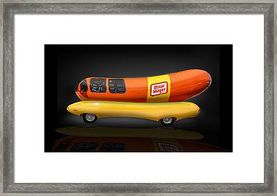 Oscar Mayer Wiener Mobile Framed Print