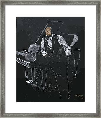Oscar Peterson Framed Print