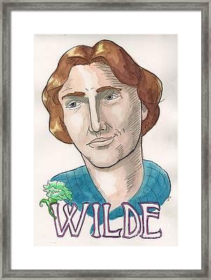 Oscar Wilde Framed Print