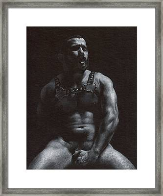 Oscuro 7 Framed Print by Chris Lopez