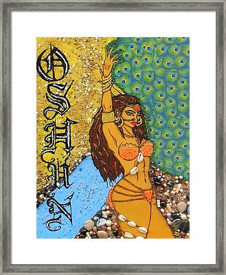 Oshun Framed Print by Allison Aaron