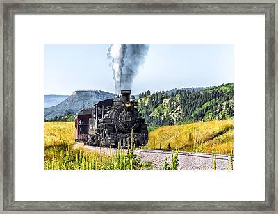 Osier Bound 484 Framed Print