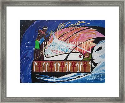 Osiris - Nepra By Blaa Kattproduksjoner  Framed Print