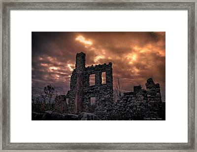 Framed Print featuring the photograph Osler Castle by Michaela Preston