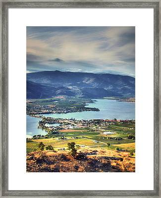 Osoyoos Lake 2 Framed Print by Tara Turner