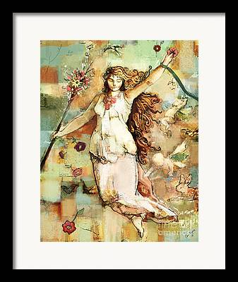 Pre-raphaelites Mixed Media Framed Prints
